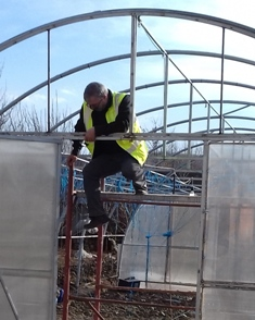 Repairing the Polytunnel