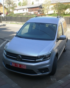 New VW Caddy